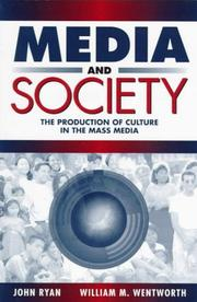 Cover of: Media and Society