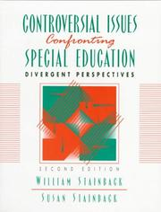Cover of: Controversial Issues Confronting Special Education