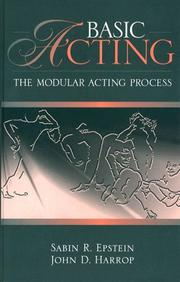 Cover of: Basic Acting