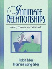 Cover of: Intimate Relationships
