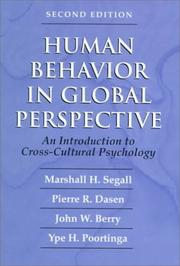 Cover of: Human Behavior in Global Perspective