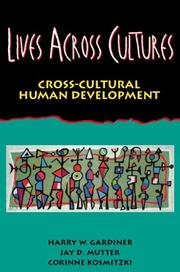 Cover of: Lives Across Cultures