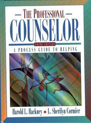 Cover of: Professional Counselor, The