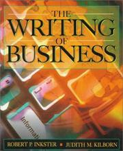 Cover of: Writing of Business, The