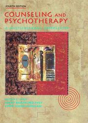 Cover of: Counseling and Psychotherapy