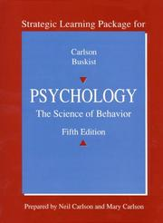 Cover of: Strategic Learning Package for Psychology
