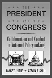 Cover of: President and Congress, The