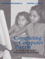 Cover of: Completing the Computer Puzzle