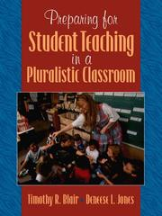 Cover of: Preparing for Student Teaching in Pluralistic Classrooms