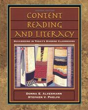 Cover of: Content Reading and Literacy
