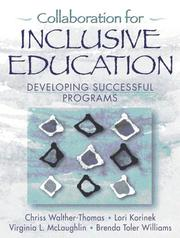 Cover of: Collaboration for Inclusive Education