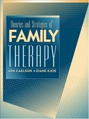 Cover of: Theories and Strategies of Family Therapy