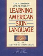 Cover of: Learning American Sign Language
