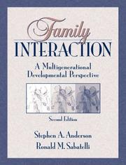 Cover of: Family Interaction