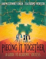 Cover of: Piecing it Together