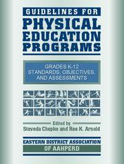 Cover of: Guidelines for Physical Education Programs