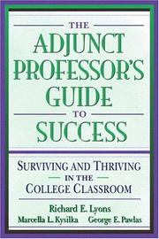 Cover of: Adjunct Professor's Guide to Success, The