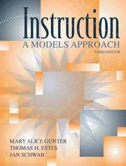 Cover of: Instruction