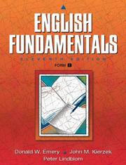 Cover of: English Fundamentals