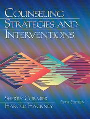 Cover of: Counseling Strategies and Interventions (5th Edition)
