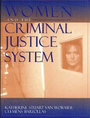 Cover of: Women and the Criminal Justice System