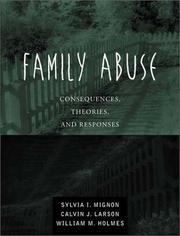 Cover of: Family Abuse