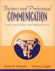 Cover of: Business and Professional Communication