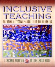 Cover of: Inclusive Teaching