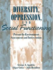 Cover of: Diversity, Oppression, and Social Functioning