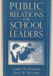 Cover of: Public Relations for School Leaders