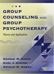Cover of: Group Counseling and Group Psychotherapy
