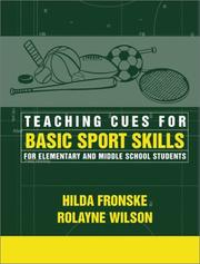 Cover of: Teaching Cues for Basic Sport Skills for Elementary and Middle School Students