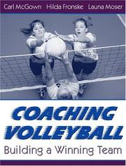 Cover of: Coaching Volleyball