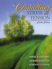 Cover of: Controlling Stress and Tension (6th Edition)