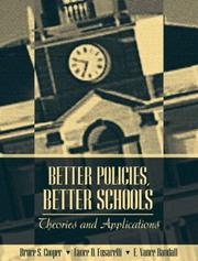 Cover of: Better Policies, Better Schools