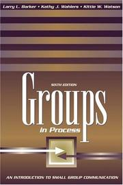 Cover of: Groups in Process