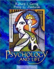 Cover of: Psychology and Life (16th Edition)