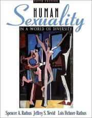 Cover of: Human Sexuality in a World of Diversity (5th Edition)
