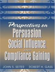Cover of: Perspectives on persuasion, social influence, and compliance gaining