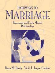 Cover of: Pathways to Marriage
