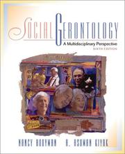 Cover of: Social Gerontology