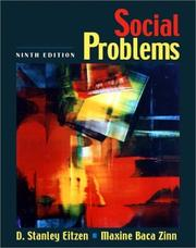 Cover of: Social Problems (9th Edition)