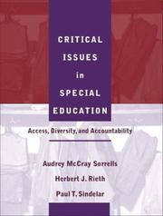 Cover of: Critical Issues in Special Education