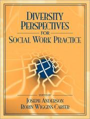 Cover of: Diversity Perspectives for Social Work Practice