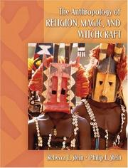 Cover of: Anthropology of Religion, Magic, and Witchcraft