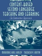 Cover of: Content-Based Second Language Teaching and Learning