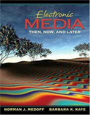Cover of: Electronic media