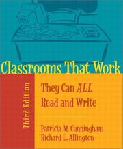 Cover of: Classrooms That Work