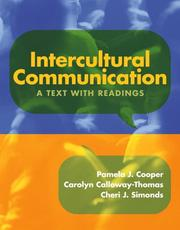 Cover of: Intercultural Communication