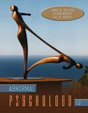 Cover of: Abnormal Psychology, 12th Edition